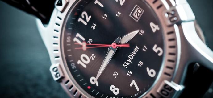 Hand clock