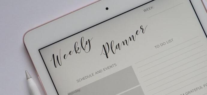 Weekly plannes