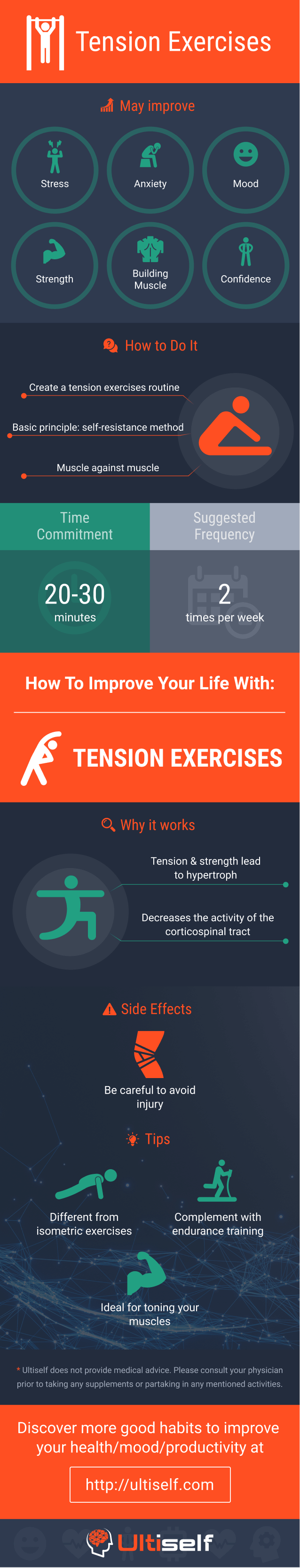 Tension Exercises infographic