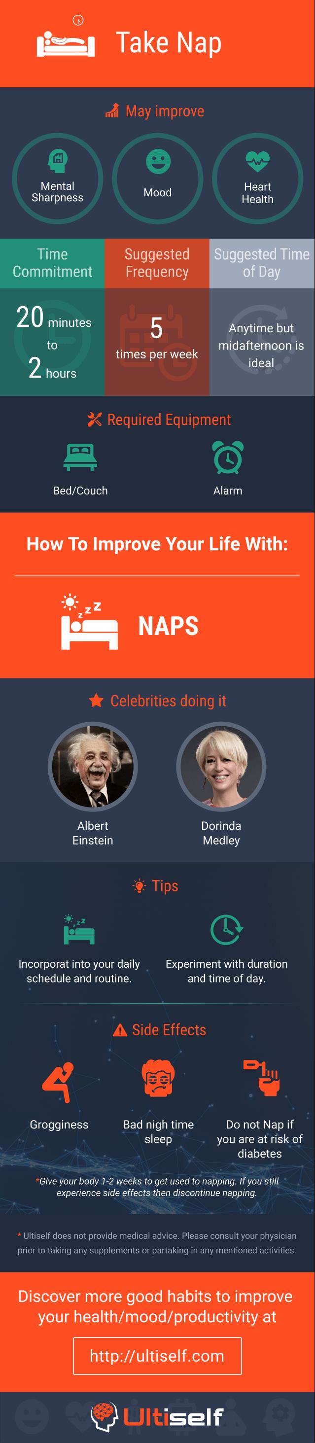 Take Nap infographic