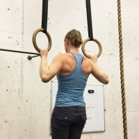 Hang of the pull up bar picture