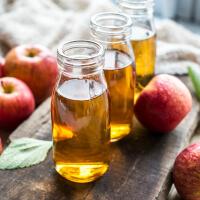 Apple cider vinegar at night picture