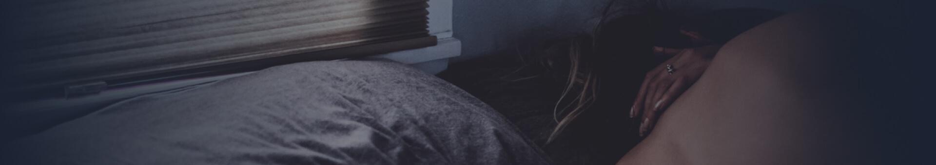 Sleep in blackout room